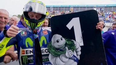 Rossi parla del suo miglior tempo nelle qualifiche di Jerez.