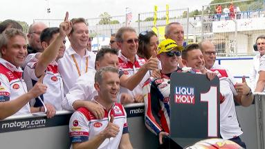 Highlights: #SidewaysSam Lowes on Moto2™ pole