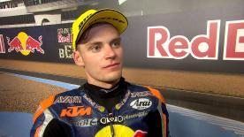 Il pilota Red Bull KTM Ajo parte dalla prima fila a Jerez grazie al secondo tempo in qualifica.