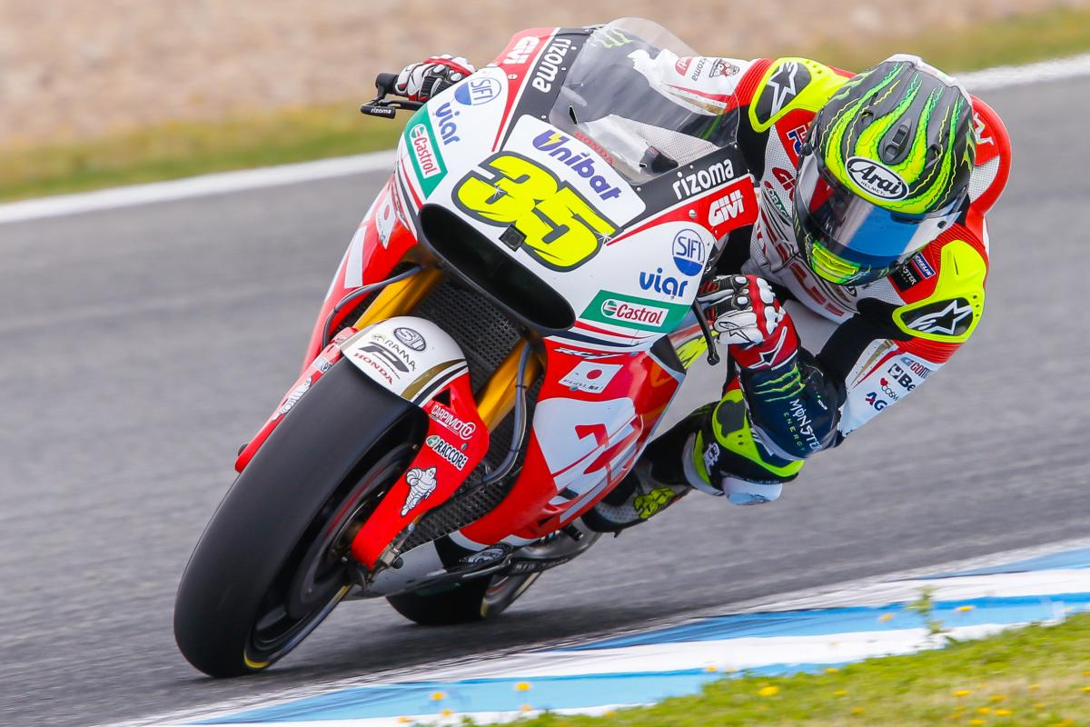 Crutchlow and baz head into q2 in jerez