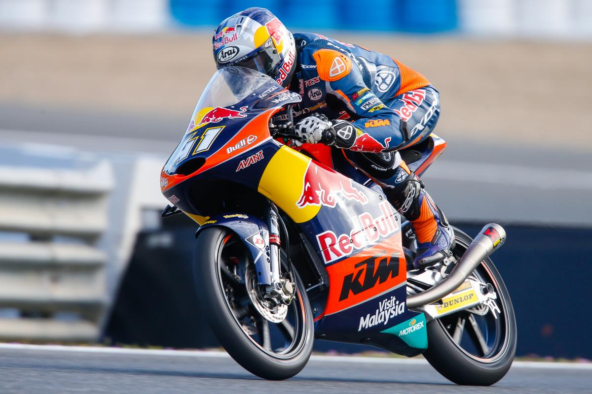 Binder begins Saturday with clear advantage | MotoGP™
