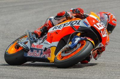 Márquez: «Era difícil conseguir la pole»