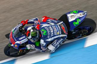 MotoGP™ FP4 : Lorenzo devant Márquez et Rossi