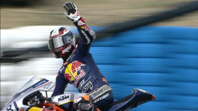 Aleix Viu gana la carrera de la Red Bull MotoGP Rookies Cup