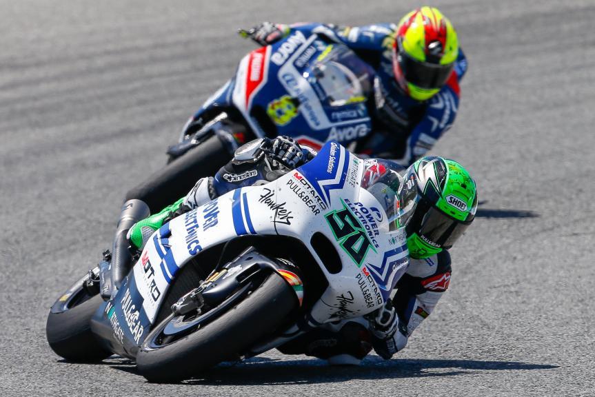 Eugene Laverty, Aspar Team MotoGP, Gran Premio Red Bull de España