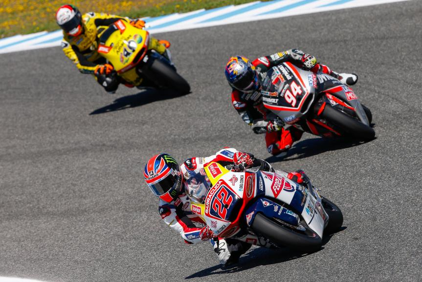 Sam Lowes, Federal Oil Gresini and Jonas Folger, Dynavolt Intact GP, Gran Premio Red Bull de España