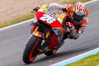 "Pedrosa: ""I rode at a safe pace"""