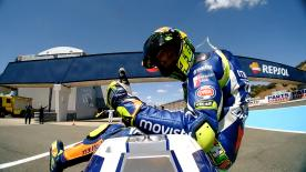 Incredibly at 37 years of age and after 274 premier class races, Valentino Rossi is still breaking new ground.