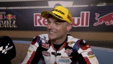 Lowes: 'It's nice to get the win'
