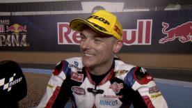 Sam Lowes vince per la prima volta questa stagione. Il successo andaluso fortifica il suo primato in Moto2™.