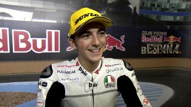 Bagnaia: 'Niccoló ist ein wirklich gutes Rennen gefahren'