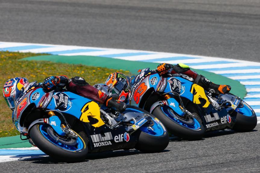 Jack Miller and Tito Rabat, Estrella Galicia 0,0 Marc VDS, Gran Premio Red Bull de España © Alex Chailan / David Piolé