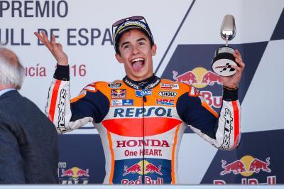 Márquez: «Valentino Rossi estaba a otro nivel»