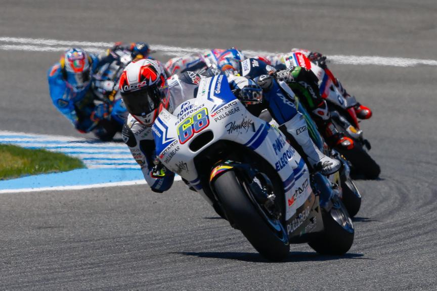 Yonny Hernandez, Aspar Team MotoGP, Gran Premio Red Bull de España