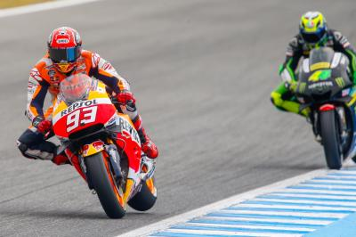 Jerez set for riveting battle as Marquez heads Warm Up