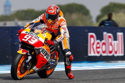 "Marquez: ""Rossi was on another level, like I was in Austin"""
