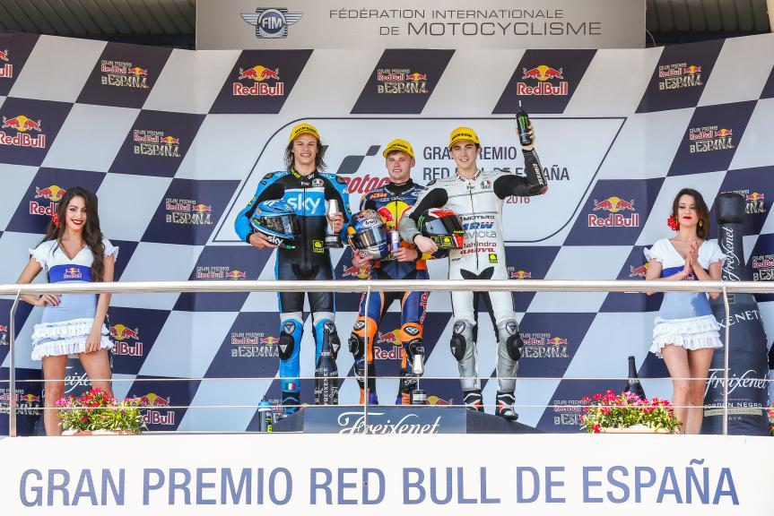 Brad Binder, Francesco Bagnaia, Romano Fenati, Gran Premio Red Bull de España