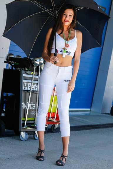 Paddock girl, Gran Premio Red Bull de España