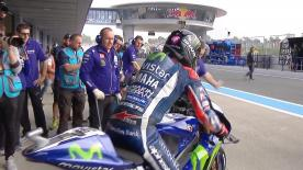 The full Warm Up session for the MotoGP™ World Championship at the Spanish GP.