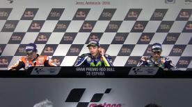 I migliori piloti della classe regina parlano della loro gara a Jerez.