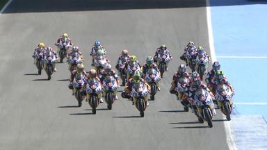 Sasaki se impone en la última curva de la Red Bull Rookies MotoGP Cup