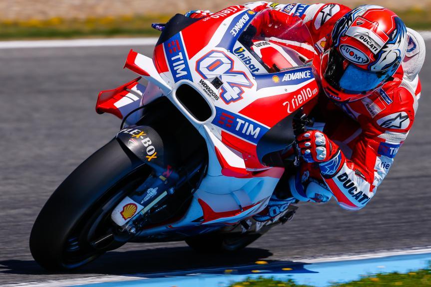 Andrea Dovizioso, Ducati Team, Jerez, MotoGP Official Test