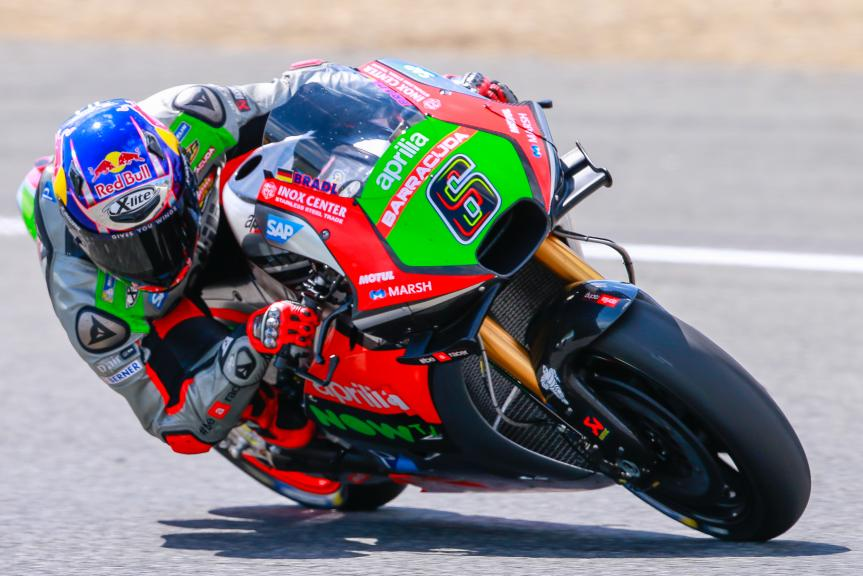 Stefan Bradl, Aprilia Racing Team Gresini, Jerez, MotoGP Official Test