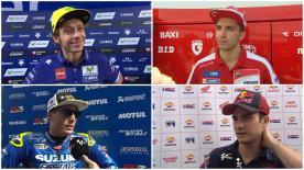 Le reazioni dei piloti più veloci nel teste post GP a Jerez.