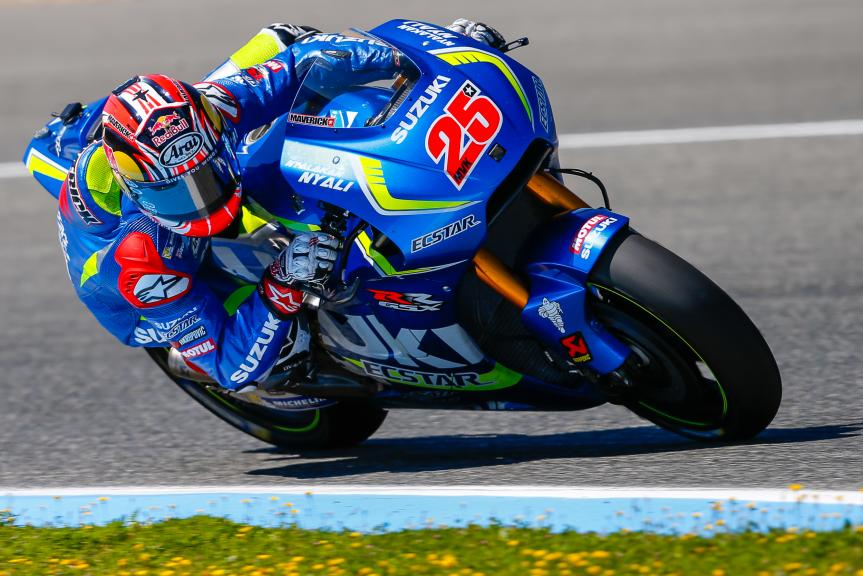 Maverick Viñales, Team SUZUKI ECSTAR, Jerez, MotoGP Official Test