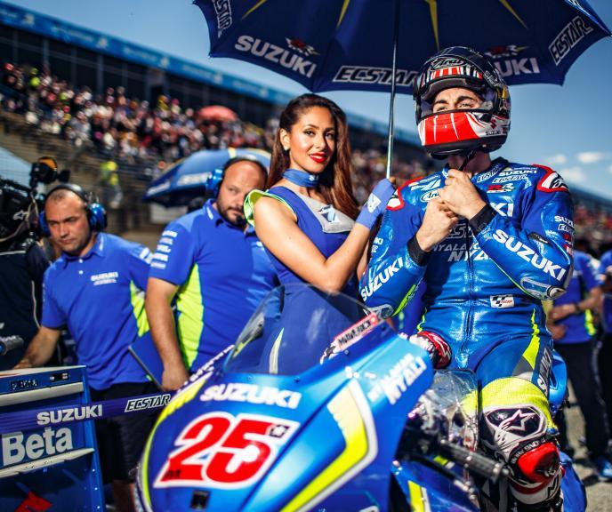 Maverick Viñales, Team SUZUKI ECSTAR, Gran Premio Red Bull de España © Alex Chailan / David Piolé