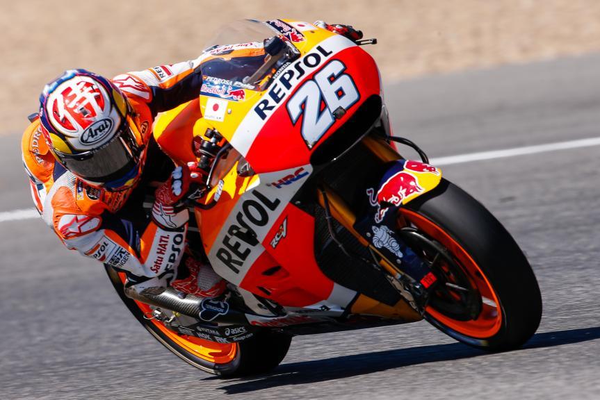 Dani Pedrosa, Repsol Honda Team, Jerez, MotoGP Official Test