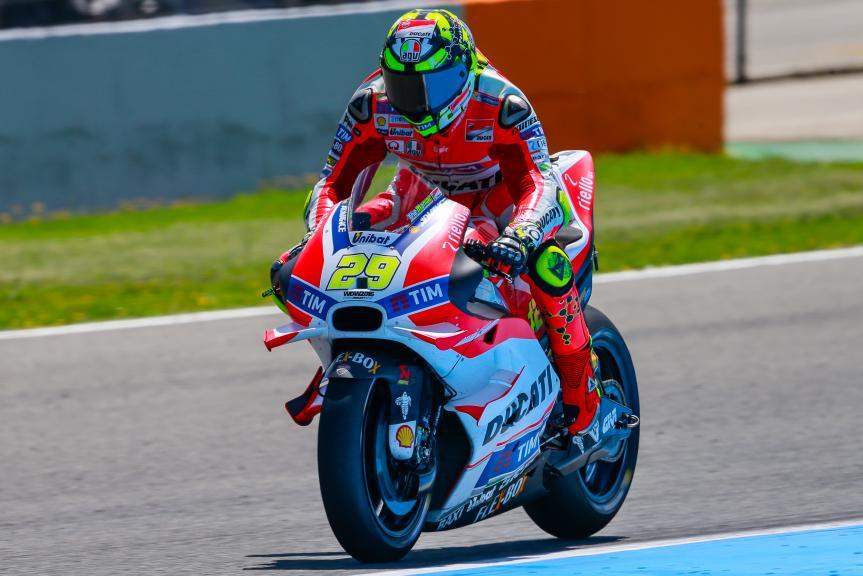 Andrea Iannone, Ducati Team, Jerez, MotoGP Official Test