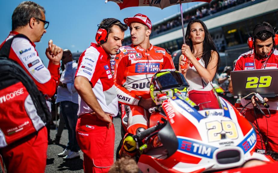 Andrea Iannone, Ducati Team, Gran Premio Red Bull de España © Alex Chailan / David Piolé