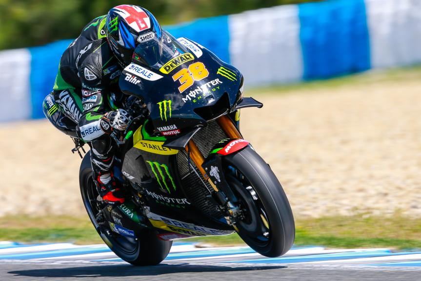 Bradley Smith, Monster Yamaha Tech 3, Jerez, MotoGP Official Test