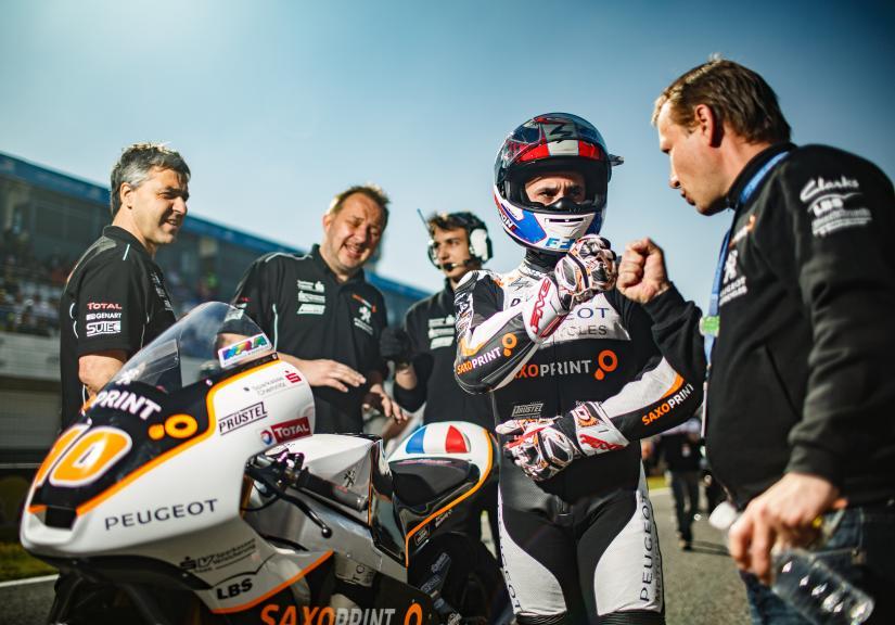 Alexis Masbou, Peugeot MC Saxoprint, Gran Premio Red Bull de España © Alex Chailan / David Piolé
