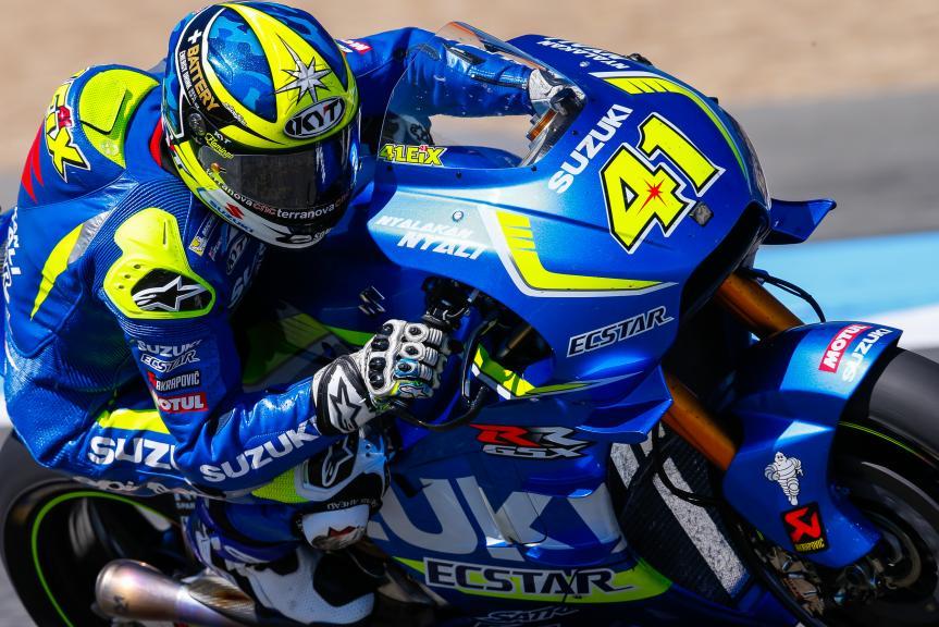 Aleix Espargaro, Team SUZUKI ECSTAR, Jerez, MotoGP Official Test