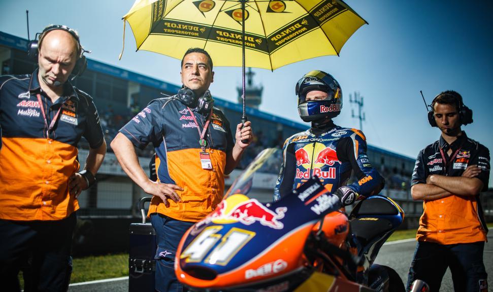 Brad Binder, Red Bull KTM Ajo, Gran Premio Red Bull de España © Alex Chailan / David Piolé