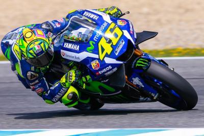 Rossi: «Lo importante del test era el neumático delantero»