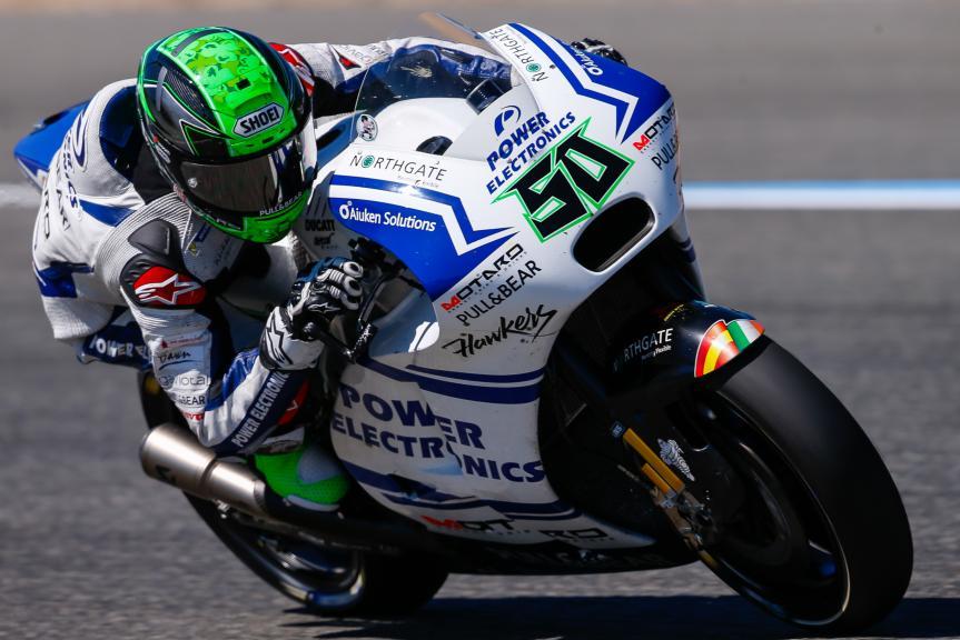 Eugene Laverty, OCTO Pramac Yakhnich, Jerez, MotoGP Official Test