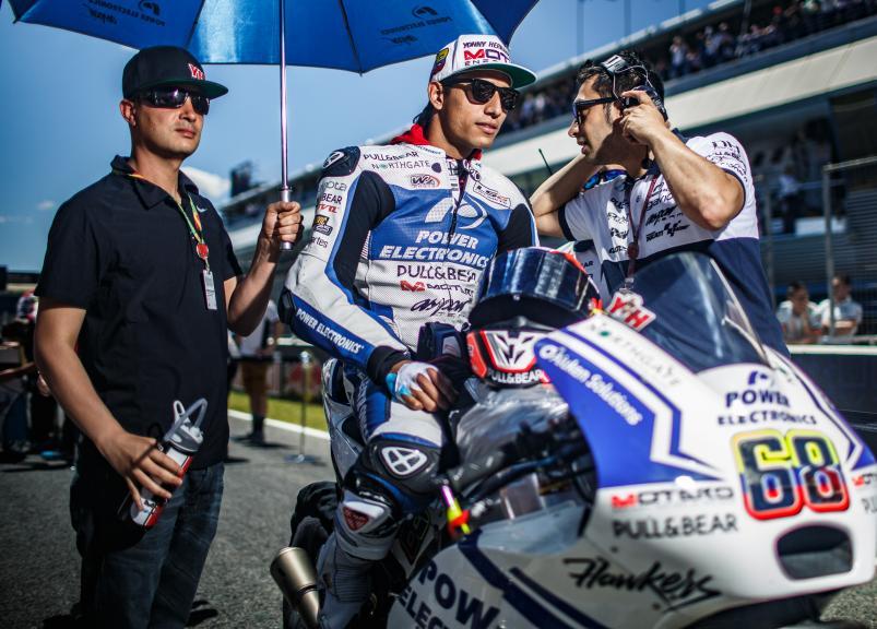 Yonny Hernandez, Aspar Team MotoGP, Gran Premio Red Bull de España © Alex Chailan / David Piolé