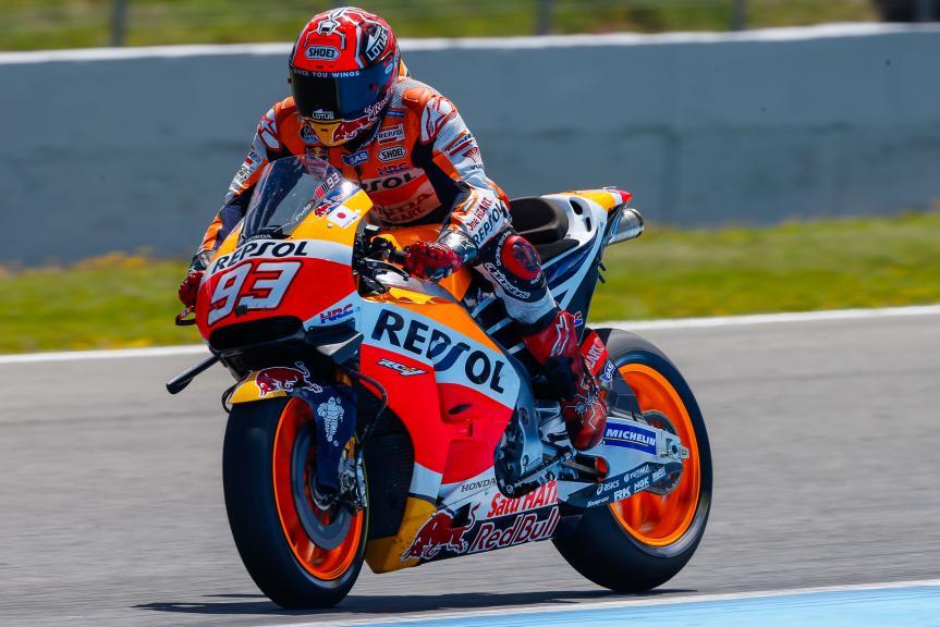 Marc Marquez, Repsol Honda Team, Jerez, MotoGP Official Test