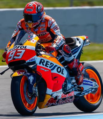 Highlights: Marquez tops official Jerez test