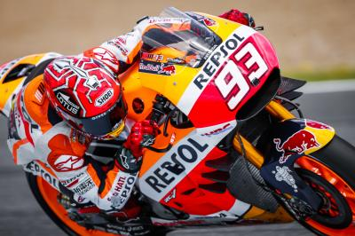 "Marquez: ""We tested out a lot of different things"""
