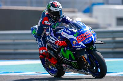 "Lorenzo: ""We tried a different setting to turn better"""