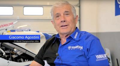 En piste avec le Yamaha Historic Racing Team