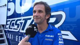 El mánager del equipo Suzuki, Davide Brivio, explica las mejoras que han realizado y el éxito que han experimentado en 2016.