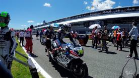 Go behind the scenes with Baz at the #SpanishGP, filmed exclusively on GoPro™ cameras.