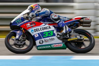 Bastianini injures right wrist in training accident