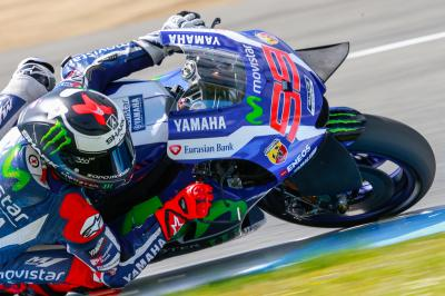 A century of podium finishes for Lorenzo