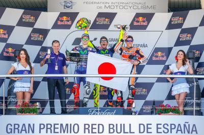 Podio de récord en Jerez